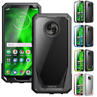 Внешний вид - For Motorola Moto G6 POETIC Guardian Rugged Shockproof TPU Case Cover 4 Color
