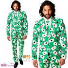 OPPOSUIT POKER FACE VEGAS MENS ADULT STAG PARTY FUNKY SUIT JACKET TIE TROUSERS