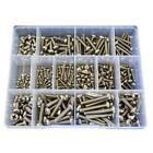 G316 Marine Stainless M3 M4 M5 M6 Pan Phillip Machine Screw Assortment Kit #44