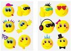 Smiley Emoji Temporary Tattoos Party Loot Bag Fillers Kids Boys Girls