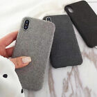 Cloth Texture Soft TPU Cases Covers For iPhone X 5.8  iphone x cases 5.8 1231853564384040 1