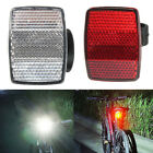 Bicycle Handlebar Reflector Bike Reflective Rear Front Warning Light Safety Lens