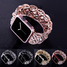 Crystal Rhinestone Watch Band Strap + Frame Suit For Apple Watch Series 3 2 1 image