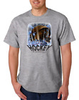 USA Made Bayside T-shirt Sports Hockey Explosion