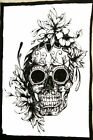Grateful Dead Small Poster Wall Hanging Table Cloth Cotton Tapestry Hippie Art