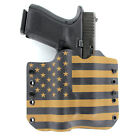 OWB Kydex Holster for 50+ Hanguns with STREAMLIGHT TLR-4 - USA COYOTE