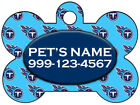 Tennessee Titans Custom Pet Id Dog Tag Personalized w  Name & Number
