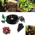 Water Irrigation Kit Set Micro Drip Hose Mist Automatic System Garden Patio Tool