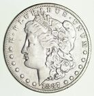 Early 1887 Morgan Silver Dollar - 90% US Coin *212