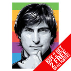 STEVE JOBS APPLE POSTER PHOTO IPHONE PIC PRINT A4 A3 SIZE - BUY 2 GET ANY 2 FREE