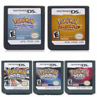 New 3DS XL NDS Lite Pokemon Platinum Diamond Pearl US Ver Game Card for Nintendo