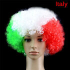 Russia Soccer National Flag World Cup Fans Wig Color Cap Cheerleading Wigs UD5T