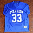 Al Bundy #33 Polk High Football Jersey Stitched Blue Married