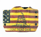 Holster for SW, Smith & Wesson, DON'T TREAD USA FLAG, OWB Kydex Gun Holster