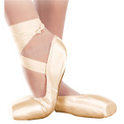 Внешний вид - Sansha Soft-Toe Shankless Ballet Demi-Pointe Shoes, American or UK, Pink, NEW