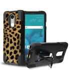 Rugged Shockproof Case w/Stand Dual Layered Cover for LG Stylo 4 Q710MS