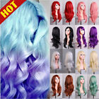 """27"""" Long Hair Wig Curly Wavy Anime Cosplay Full Wigs High Temperature Synthetic"""
