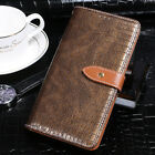 Luxury Crocodile Flip PU Leather Wallet Case Cover Card Slot For Elephone Phones