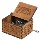 Harry Potter Music Box Engraved Wooden Music Box Kids Interesting Toys Gifts
