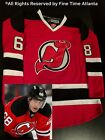 New Reebok Jaromir Jagr New Jersey Devils Mens Red Home Fight Strap Jersey
