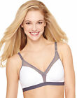 Hanes Wirefree Bra Shaping Convertible Plush Straps X-Temp Women's Unlined S-3XL