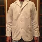 "Men's Meta White Consult Jacket Poly/Cotton Length 29"" for10.00 Sizes XS,XL 2XL"