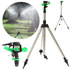 Water Sprinkler Impulse Tripod Irrigation Watering Garden Lawn Yard Adjustable