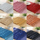 Bulk Satin Sequin Table Runners Cloth Party Wedding Event Home Decoration X5 X10