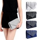 Kyпить Women Crystal Evening Party Prom Wedding Clutch Purse Handbag Shoulder Chain Bag на еВаy.соm