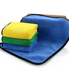 New Super Absorbent Car Wash Microfiber Towel Car Cleaning Drying Cloth Hemming