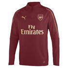 Puma Arsenal 1/4 Zip Training Top 2018/19 - Red - Mens