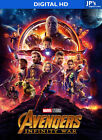 Avengers Infinity War - Thor Ragnarok / Marvel HD Digital CODES ONLY // NO DISC