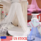 Round Dome Lace Curtain Insect Bed Canopy Netting Princess Mosquito Net Princess image