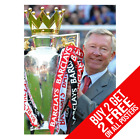 ALEX FERGUSON MANCHESTER UNITED POSTER PRINT A4 A3 SIZE - BUY 2 GET ANY 2 FREE