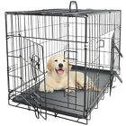 """New 20""""/24""""/30""""/36""""/42""""/48"""" Dog Crate Pet Cage 1 and 2 Doors Fences Exercise"""