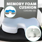 Memory Foam Seat Cushion Bamboo Pain Relief Coccyx Orthopedic Gel   Office Seat