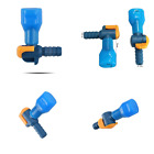 ON OFF Switch Bite Valve Tube Nozzle Replacement For Hydration Pack Bladder BLUE