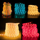 West Ivory Color Tubed LED Rope Light 20ft 2-Wire Accent Christmas Decorations