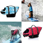 Dog Life Jacket with Handle Adjustable Reflective Pet Swimming Beach Life Vest