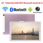 10 inch Android 4.4 Quad Core Tablet PC 16/32GB WiFi Bluetooth HD Touch Screen