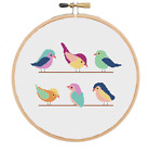 Bird Cross Stitch Pattern, Animal Cross Stitch, Modern Cross Stitch, Baby Stitch