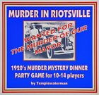 1920s murder mystery party - HOST A 1920's MURDER MYSTERY DINNER PARTY GAME ~ FOR 10-14 PLAYERS**