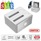 UNITEK External Hard Drive Multi SATA HDD SSD Docking Station USB 3.1 + Type C