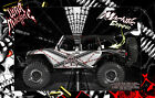 AXIAL BOMBER WRAITH YETI SCX10 JEEP HOP UP BODY GRAPHIC SKIN WRAP ACCENT KIT