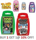 Top Trumps Card Games New Releases - 17 to Choose From - 10% OFF!