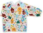 Pikababy Long Sleeved Bib Waterproof Bibs with pocket - 6 to 24 months baby