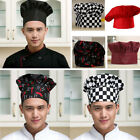 Cook Adjustable Men Women Kitchen Baker Chef Elastic Cap Hat Catering U.S.A