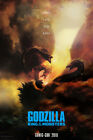 "Godzilla King of the Monsters Poster 48x32"" 36x24"" Comic Con 2018 Print Silk"