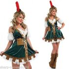Ladies Sexy Robin Hood Maid Marion Fancy Dress Costume Outfit UK 16-18 EU 44-46