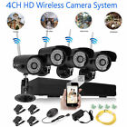 1080p 8CH NVR IP Wireless Security Camera System CCTV Day Night Motion Detection